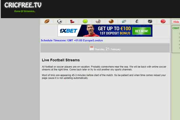 cric- free live sports streaming